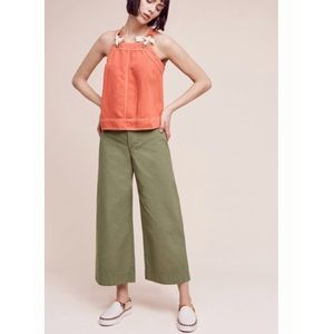 Anthropologie Pants - Pilcro and the letterpress logan wide leg crops